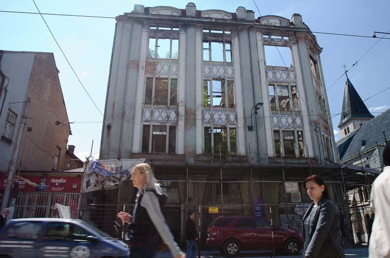 Sarajevo – beyond the siege