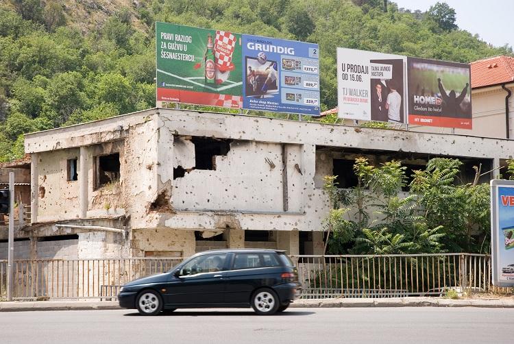 Mostar – a constant reminder