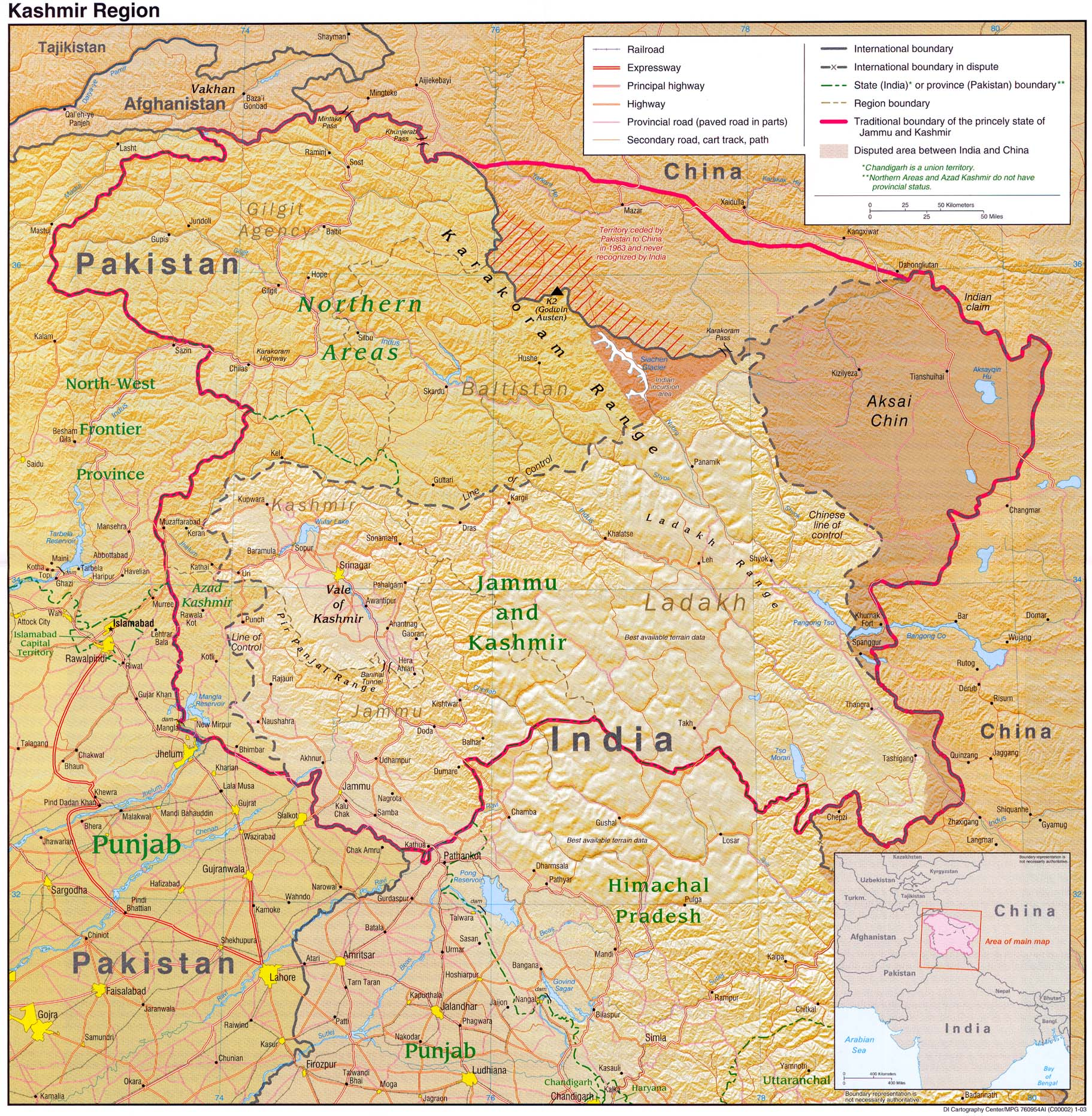 the conflict over the possession of the jammu and kashmir region in india The kashmir conflict is  the jammu and kashmir (j&k) dispute between india, pakistani, kashmiri separatists,  in a region that was over.