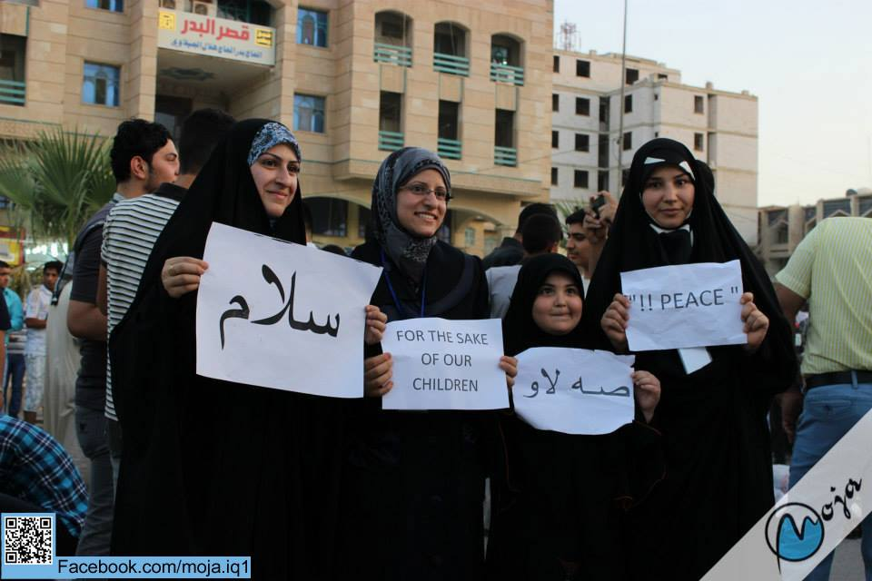 Peace day in Najaf