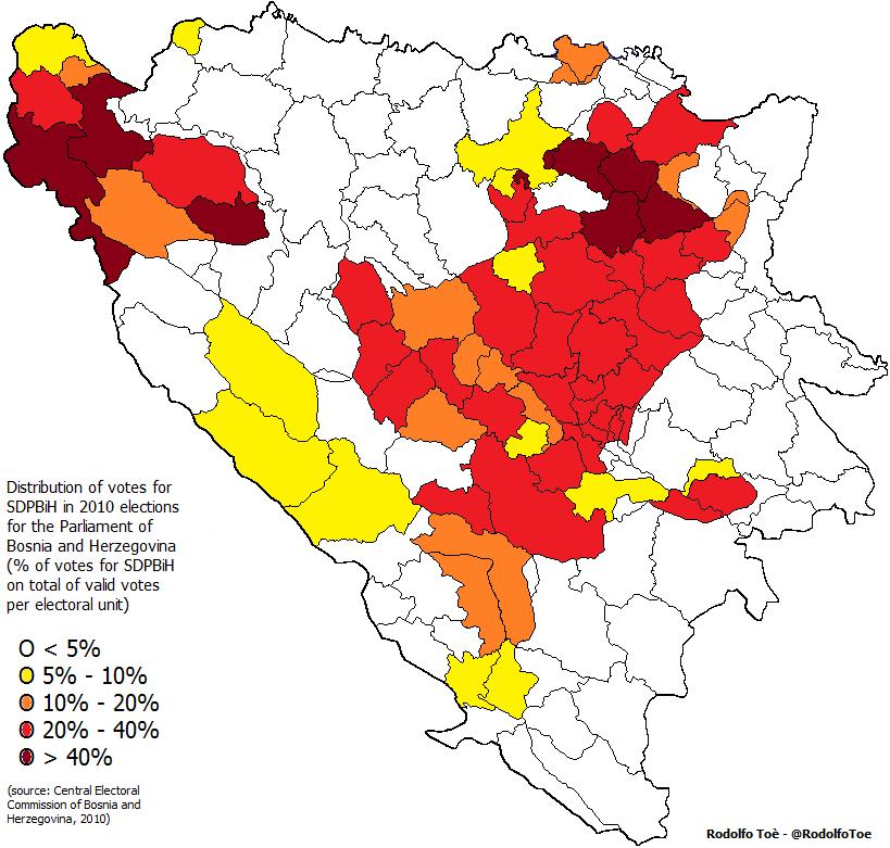 BosniaHerzegovina and the failed revolution of the SDP 20102014